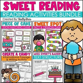 Reading and ELA Unit - Informational Text, Idioms, Text Organization, Writing