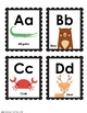 Sweet Succulents Classroom Alphabet with beginning sound animals