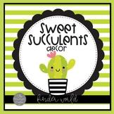 Sweet Succulents Classroom Decor Kit
