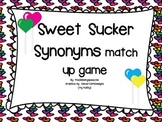 Sweet Sucker Synonyms- Match Up Activity