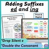 Adding ed & ing Double the Consonant, Drop the e Print & D