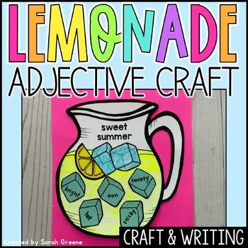 Sweet Summer Adjective Craft!