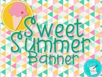 Sweet Summer Banner
