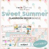Sweet Summer Classroom Decor Pack