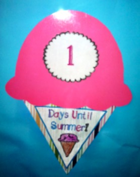 Sweet Summer Countdown! { Freebie }
