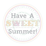 Sweet Summer End of the Year Tags