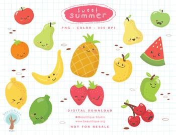 Sweet Summer - Fruit Set