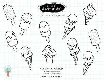 Sweet Summer - Ice Cream Set