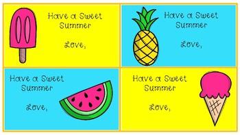 Sweet Summer Note