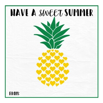 graphic regarding Have a Sweet Summer Printable identify Adorable Summertime Printable