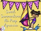Sweet Summer Speech No-Prep Apraxia