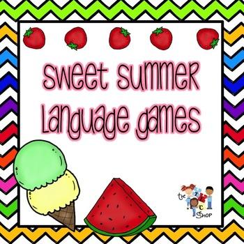 Sweet Summer Language Games