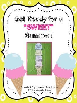 Sweet Summer Writing Craft