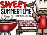 Sweet Summertime Math Stations