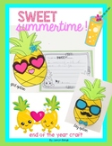 Sweet Summertime: Pineapple End of Year Craft