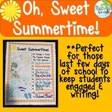 Sweet Summertime: What My Teacher Should Do This Summer {Top 10 List}