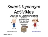 Sweet Synonym Activities