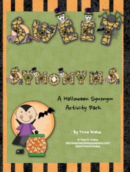 Halloween Synonyms: Sweet Synonyms for Second Grade