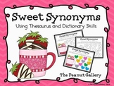 Sweet Synonyms (Color Coding Thesaurus and Dictionary Activity)