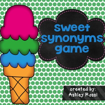 Synonyms: Sweet Synonyms Game
