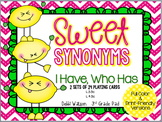 """Synonyms """"I Have, Who Has"""" Cards Color & Print-Friendly Versions"""
