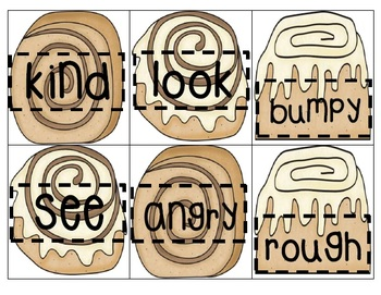 Sweet Synonyms ~ Literacy Center