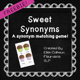 Sweet Synonyms Matching Game
