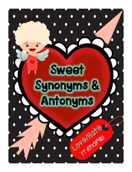 Sweet Synonyms and Antonyms
