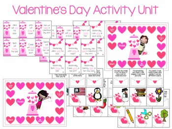 Sweet Talk {Valentine's Day Speech & Language Activities}