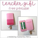 Sweet Teacher Gift Printable