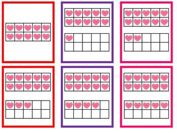 Sweet Teens Bump- Valentine's Day Math Center