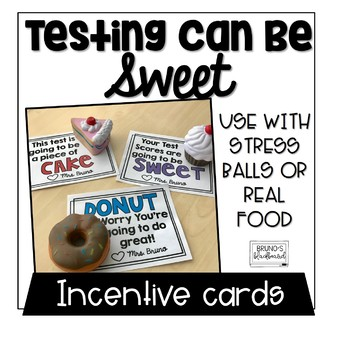 Sweet Testing Motivational Cards