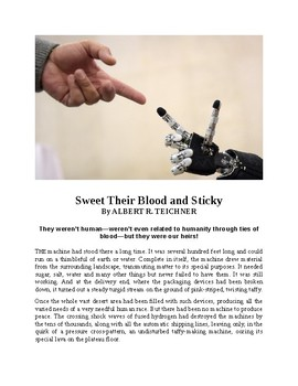 Sweet Their Blood and Sticky - Sci-fi Short Story