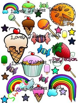 Sweet Theme: Sticker Sheet