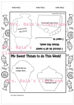 Sweet Things To Do This Week Craft