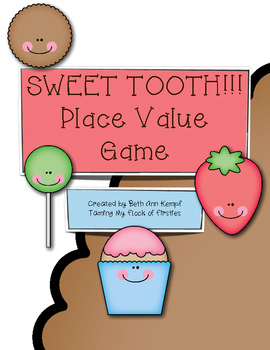 Sweet Tooth Place Value Game