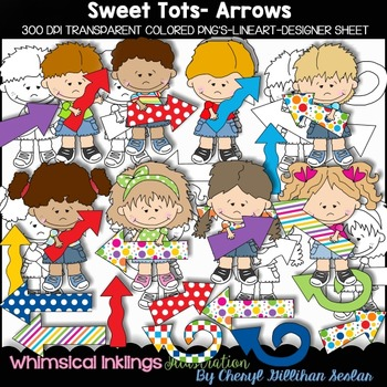 Sweet Tots Arrows Clipart Collection