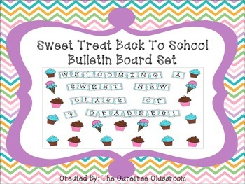 Bulletin Board Set: Sweet Treat Back To School Board