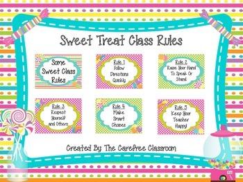 Sweet Treat Class Rules