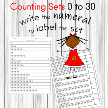 Counting Sets 0 to 30