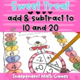 Sweet Treat - Independent Addition & Subtraction Game