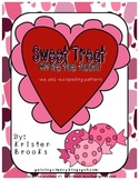 Sweet Treat Long E (Valentine's Day Write the Room)