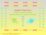 Sweet Treat Long E Vowel Team Sort