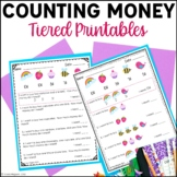 Counting Coins Printables: Adding a Collection & Solving Word Problems