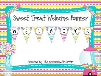 Sweet Treat Pennant Banner