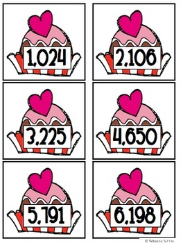 Sweet Treat Place Value Multi-Leveled (ones through thousands)