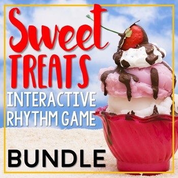 Sweet Treat Rhythms {Bundled Rhythm Game}