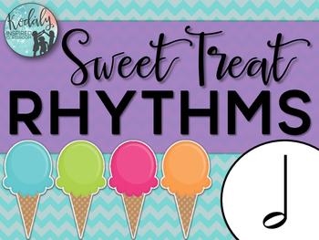 Sweet Treat Rhythms {half note}