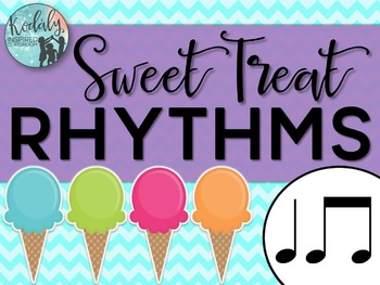 Sweet Treat Rhythms {ta and titi}