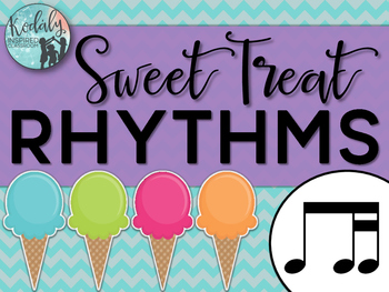 Sweet Treat Rhythms {ti-tika}